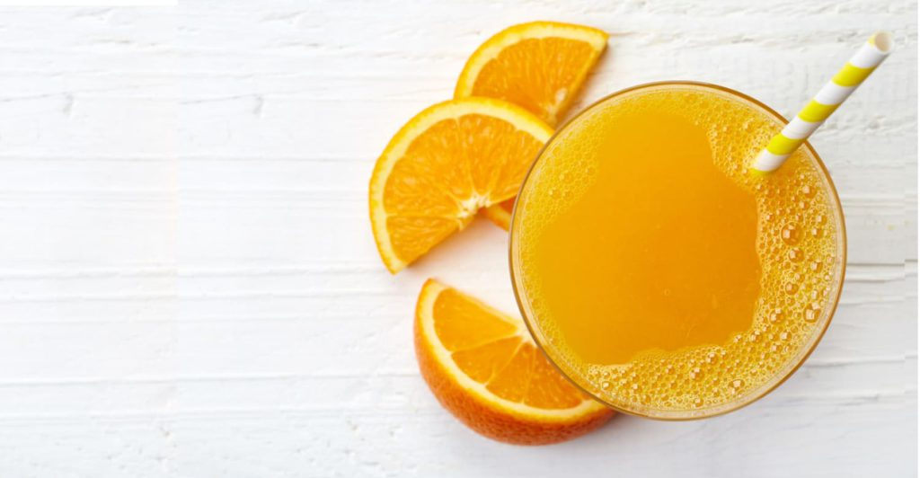 Why does orange juice taste bad after brushing